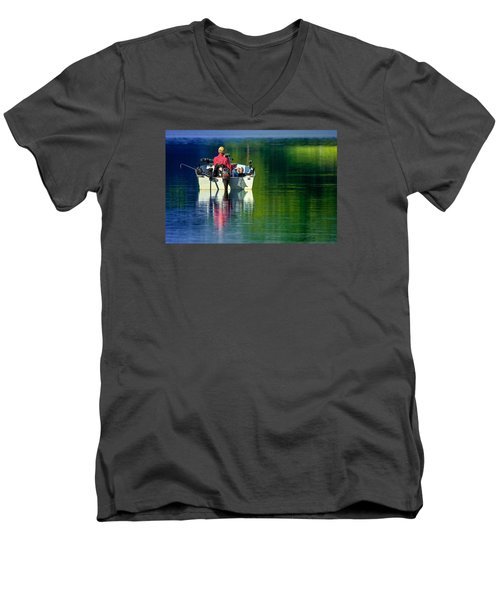 Fishing And Wishing 2 Men's V-Neck T-Shirt