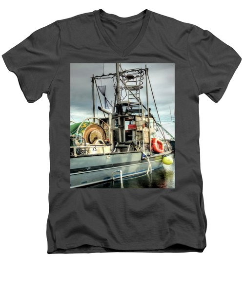 Fishing Boat Rigging Men's V-Neck T-Shirt