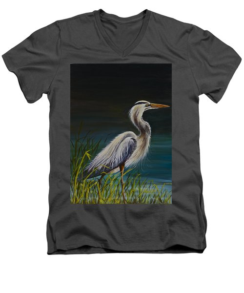 Fishing  Men's V-Neck T-Shirt