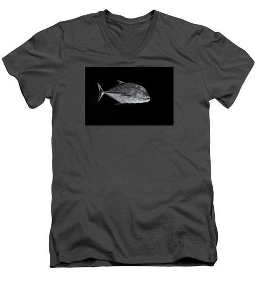 Fla-150811-nd800e-26052-bw-selenium Men's V-Neck T-Shirt