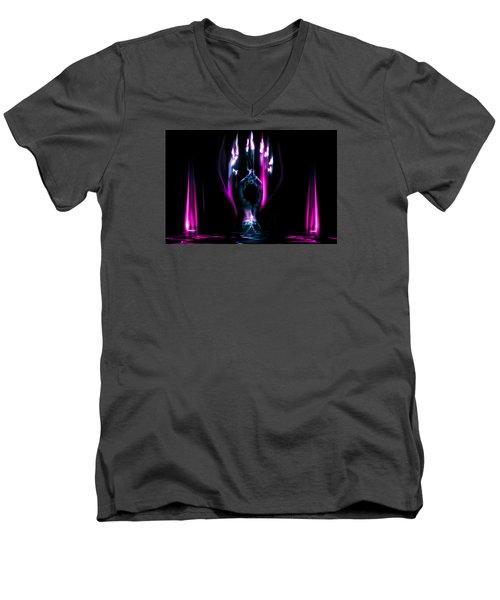 Flame Dance Men's V-Neck T-Shirt