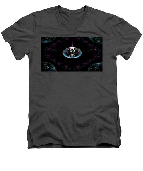 Flame Element Men's V-Neck T-Shirt