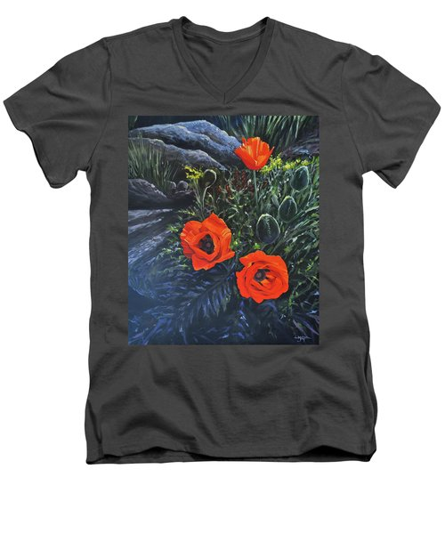 Flame Of The West Men's V-Neck T-Shirt