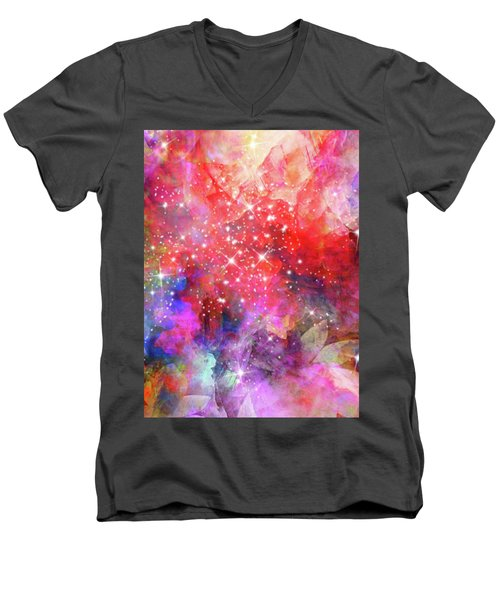Flammable Imagination  Men's V-Neck T-Shirt