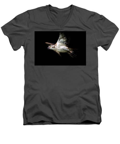 Flaps Up Men's V-Neck T-Shirt