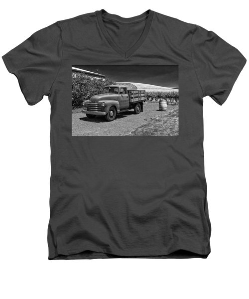 Flat Bed Chevrolet Truck Dsc05135 Men's V-Neck T-Shirt
