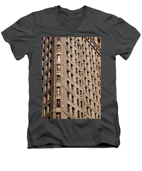 Flat Iron Men's V-Neck T-Shirt