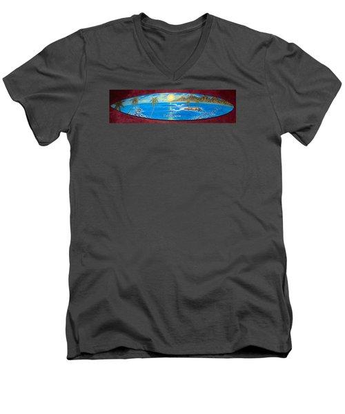 Flavor Factory Dream  Men's V-Neck T-Shirt