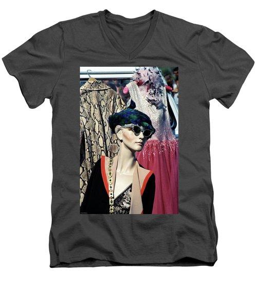 Flea Market Style Men's V-Neck T-Shirt