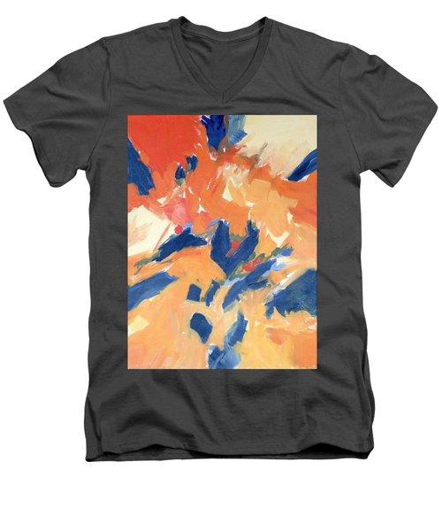 Fleeing Crows Men's V-Neck T-Shirt