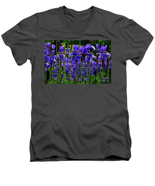Fleur De Lys Men's V-Neck T-Shirt