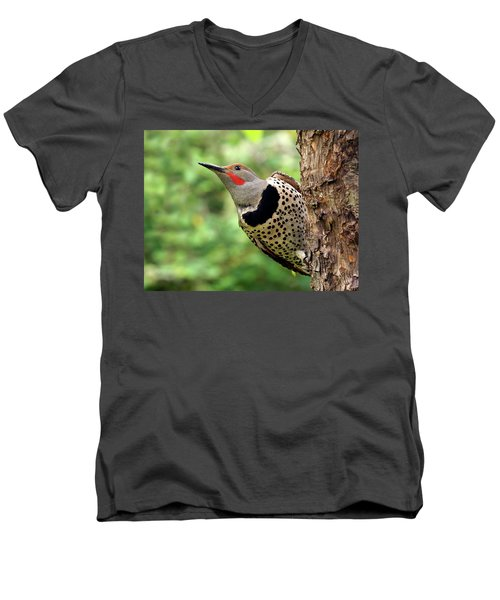 Flicker Men's V-Neck T-Shirt by Inge Riis McDonald