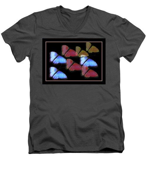 Flight Of The Butterflies Men's V-Neck T-Shirt