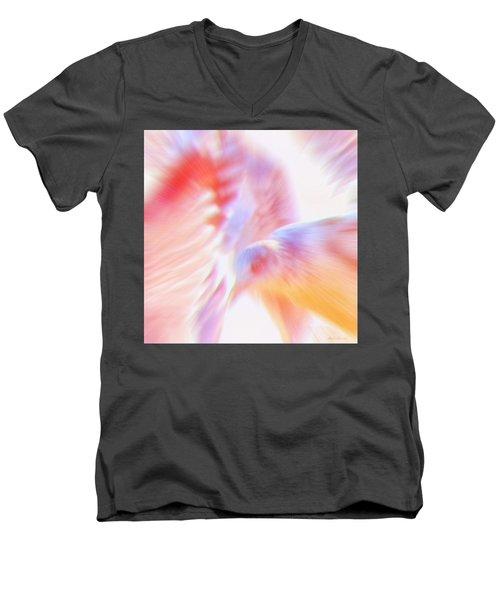 Flight Of The Seagull  Men's V-Neck T-Shirt by Glenn Gemmell