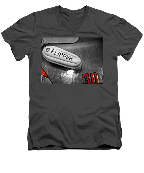 Flipper 30 - Pinball  Men's V-Neck T-Shirt
