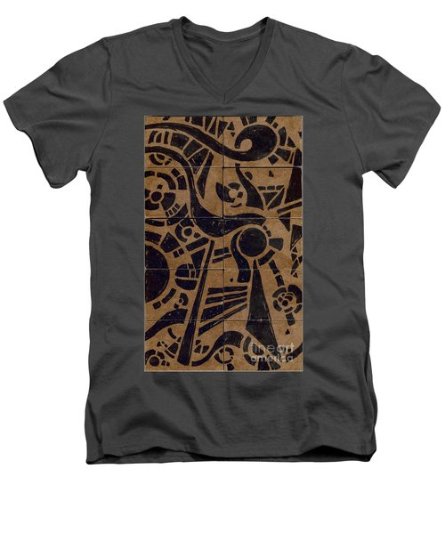 Flipside 1 Panel C Men's V-Neck T-Shirt