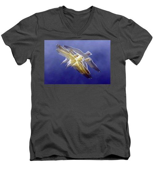 Floating Gulls Men's V-Neck T-Shirt