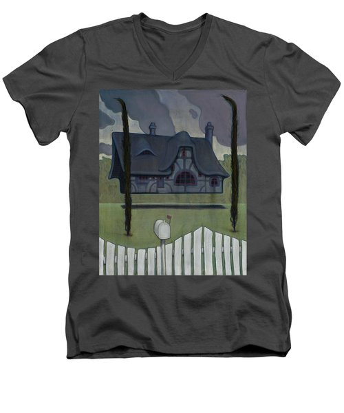 Floating House Men's V-Neck T-Shirt
