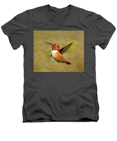 Floating Men's V-Neck T-Shirt