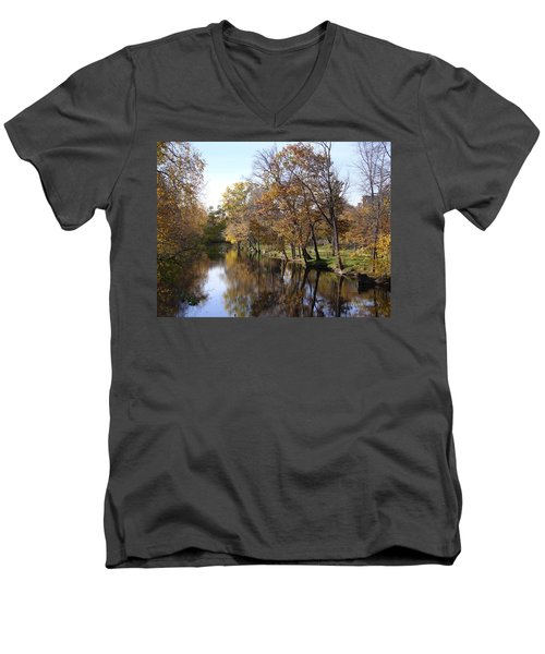 Flood Plain Men's V-Neck T-Shirt