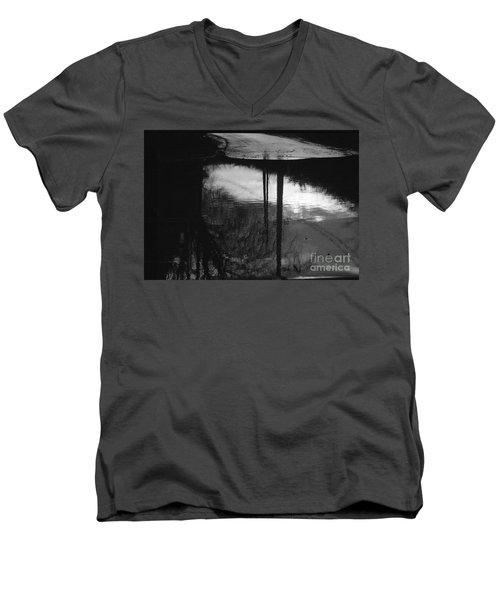 Flooged Men's V-Neck T-Shirt