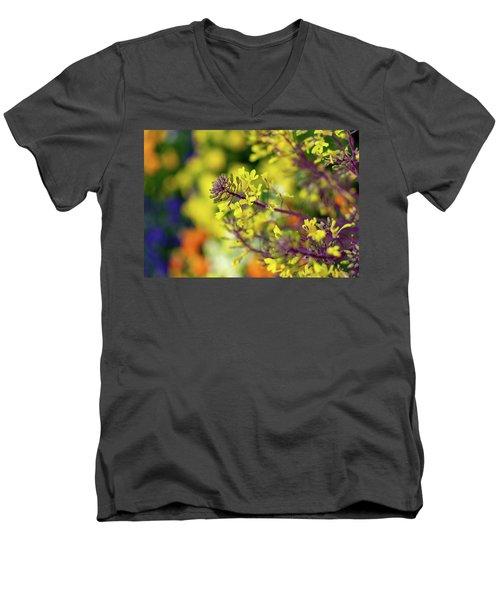 Flora Flora Flora Men's V-Neck T-Shirt