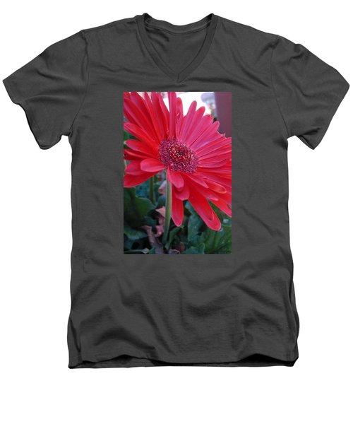 Flora Men's V-Neck T-Shirt