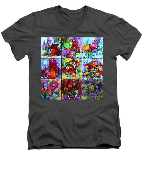 Floral Air Men's V-Neck T-Shirt