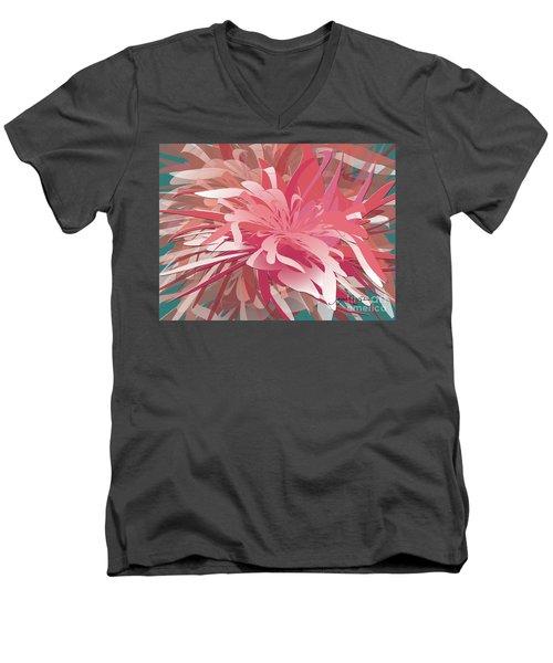 Floral Profusion Men's V-Neck T-Shirt