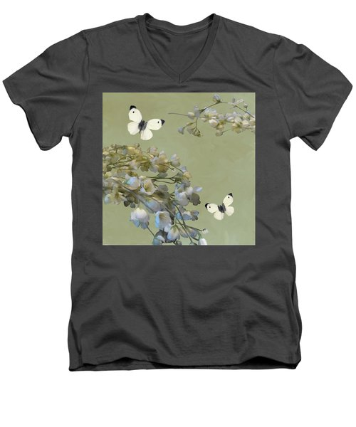 Floral07 Men's V-Neck T-Shirt