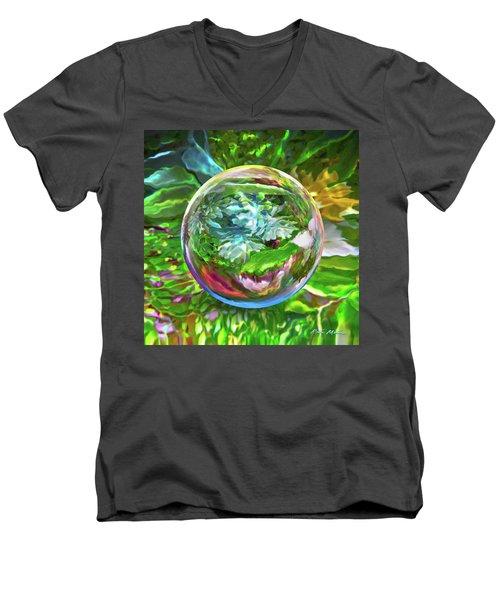 Florascape Men's V-Neck T-Shirt