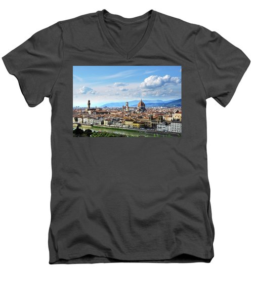 Florence, Italy Men's V-Neck T-Shirt