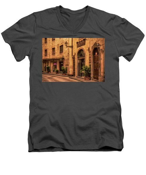 Florentine Street Men's V-Neck T-Shirt