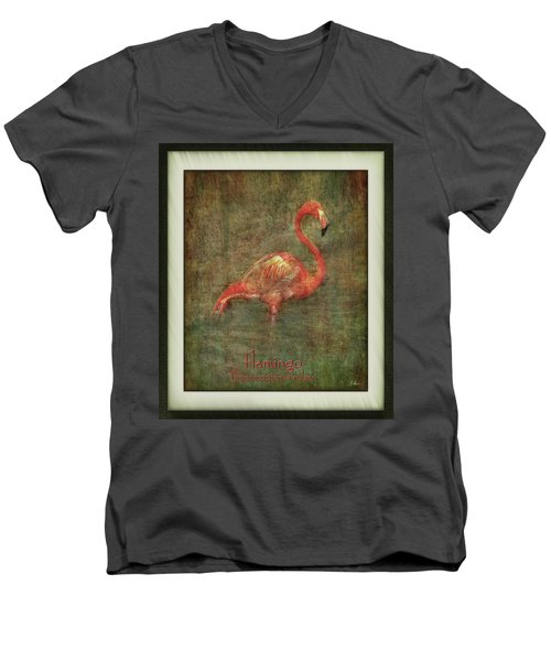 Men's V-Neck T-Shirt featuring the photograph Florida Art by Hanny Heim