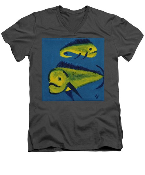 Florida Fish Men's V-Neck T-Shirt