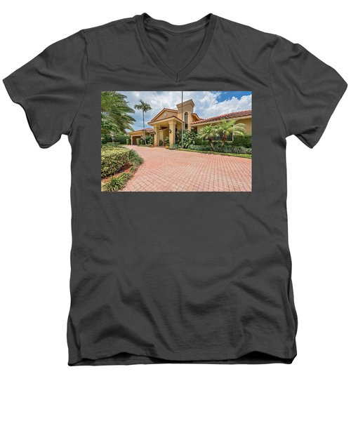 Florida Home Men's V-Neck T-Shirt