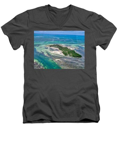 Florida Keys - One Of The Men's V-Neck T-Shirt