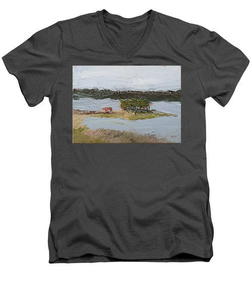 Florida Lake II Men's V-Neck T-Shirt