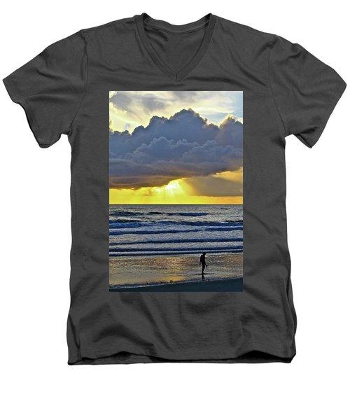 Florida Morning Men's V-Neck T-Shirt