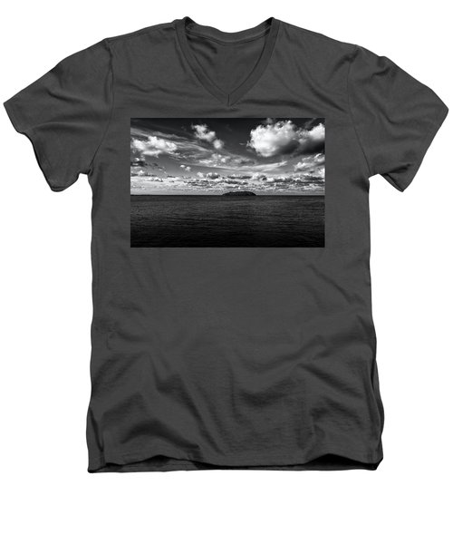 Men's V-Neck T-Shirt featuring the photograph Floridian Waters by Jon Glaser