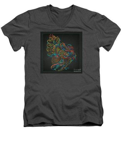 Flourish Turkey Men's V-Neck T-Shirt
