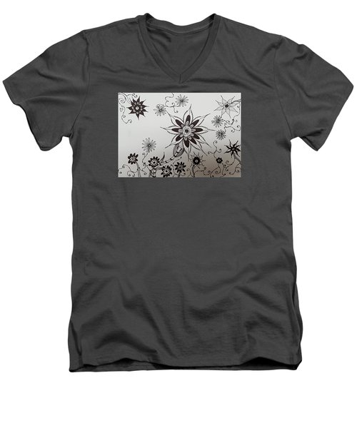 Flower 10 Men's V-Neck T-Shirt