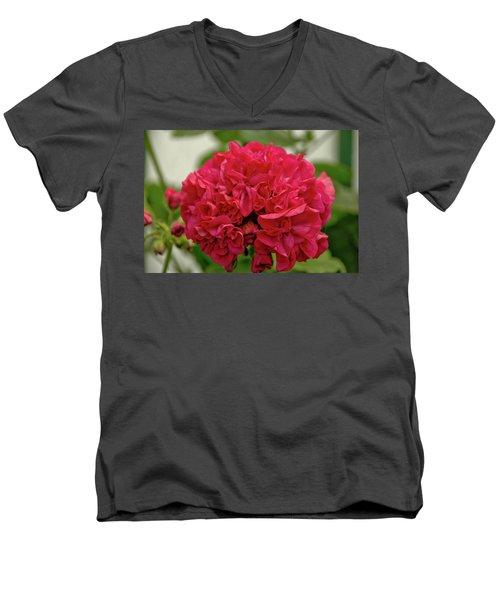 Flower 3 Men's V-Neck T-Shirt