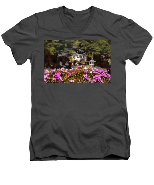 Flower Box Men's V-Neck T-Shirt