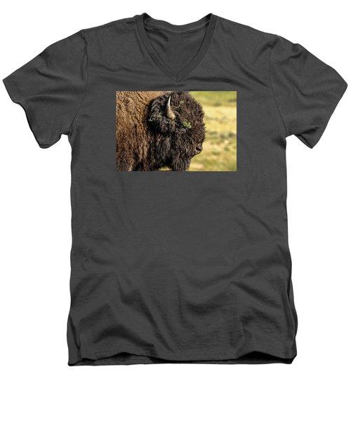 Men's V-Neck T-Shirt featuring the photograph Flower Child by Monte Stevens