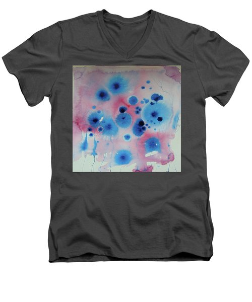 Flower Energies  Men's V-Neck T-Shirt
