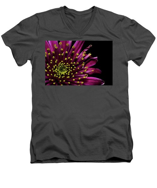 Flower For You Men's V-Neck T-Shirt