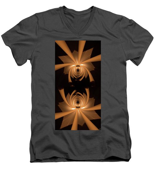 Flower Light Men's V-Neck T-Shirt