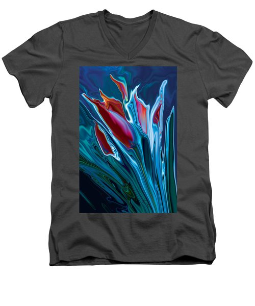 Flower Unknown 2 Men's V-Neck T-Shirt