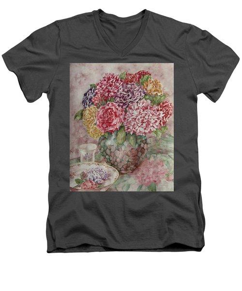 Flowers Arrangement  Men's V-Neck T-Shirt